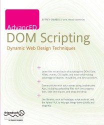 AdvancED DOM Scripting: Dynamic Web Design Techniques