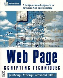 Web Page Creative Techniques: JavaScript, VBScript, and Advanced HTML, with CDROM