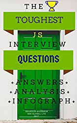The 13 ESSENTIAL JavaScript Coding Interview Questions, Analysis and Infograph: 13 Toughest JAVASCRIPT Interview Questions Answers Analysis Infograph