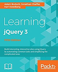 Learning jQuery 3.x – Fifth Edition